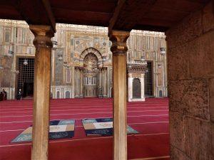 Dettaglio della Moschea Sultan Hassan