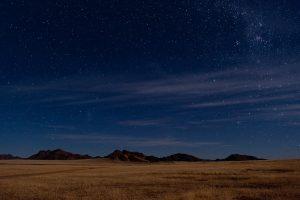 Notte stellata Sossusvlei