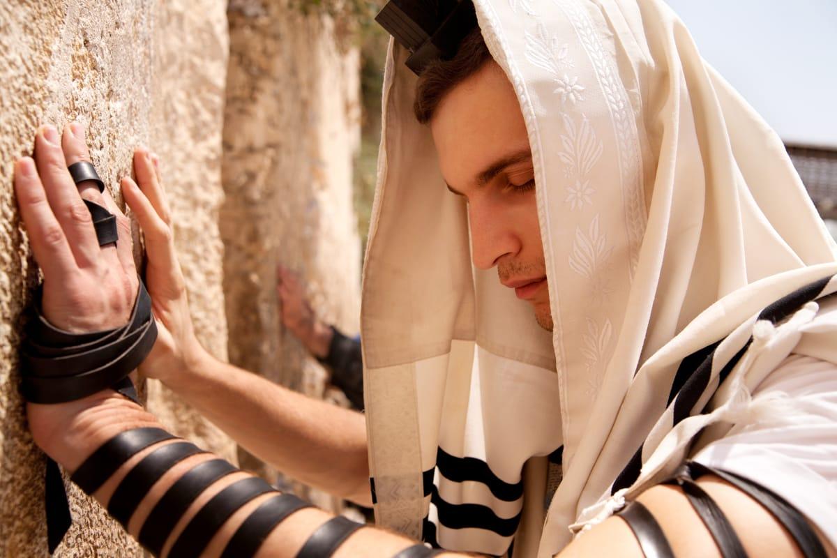 Preghiera al Muro del Pianto